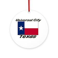Universal City Texas Ornament (Round)