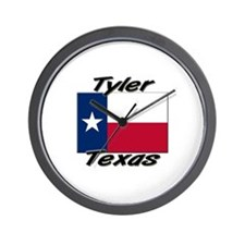 Tyler Texas Wall Clock