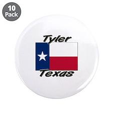 """Tyler Texas 3.5"""" Button (10 pack)"""