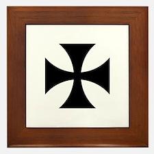 Iron Cross (Medieval) Framed Tile