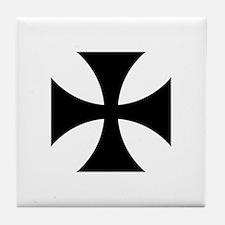 Iron Cross (Medieval) Tile Coaster