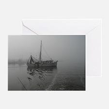Shrimp Boat Greeting Cards (Pk of 10)