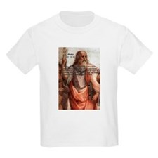 Plato: Philosophy / Equality Kids T-Shirt