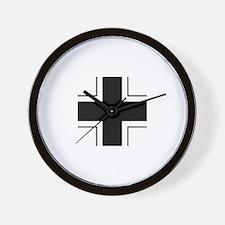 Iron Cross (Wehrmacht) Wall Clock