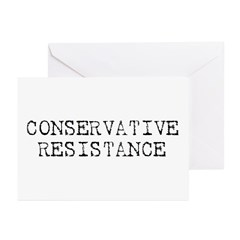 Conservative Resistance Greeting Cards (Pk of 10)