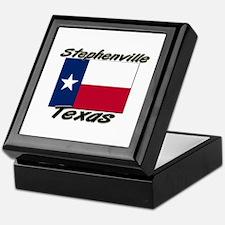 Stephenville Texas Keepsake Box