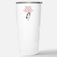 divorce joke for women Stainless Steel Travel Mug