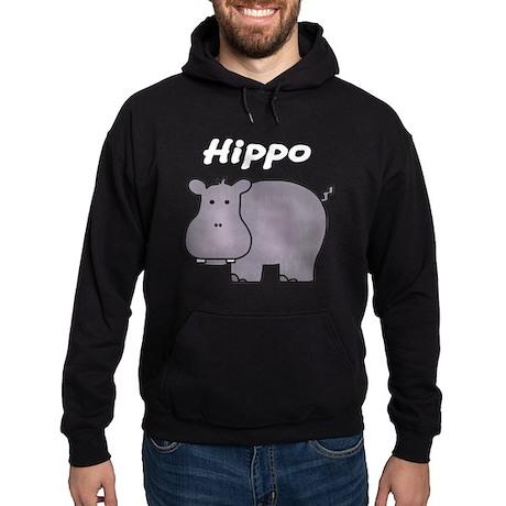 Hippo Hoodie (dark)