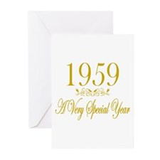 1959 Greeting Cards (Pk of 10)