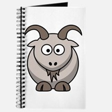 Cartoon Goat Journal