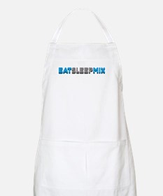 Eat Sleep Mix BBQ Apron