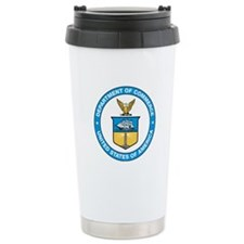 U.S. Department of Commerce Travel Mug