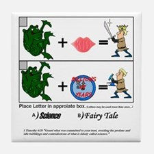Frog Fairy Tales Tile Coaster