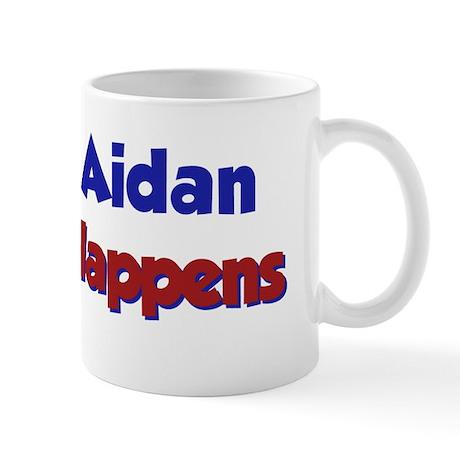 Aidan Happens Mug