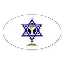 Jewish Star Decal