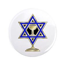 "Jewish Star 3.5"" Button (100 pack)"