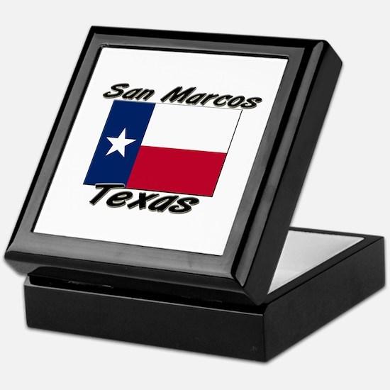San Marcos Texas Keepsake Box