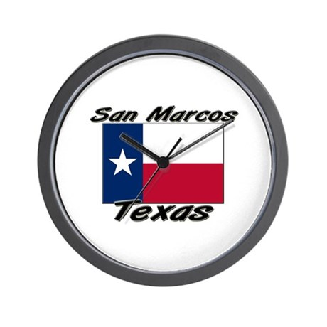 San Marcos Texas Wall Clock