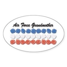 Air Force Grandmother Oval Decal