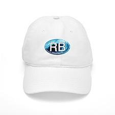 RB Redondo Beach, CA Oval Baseball Cap