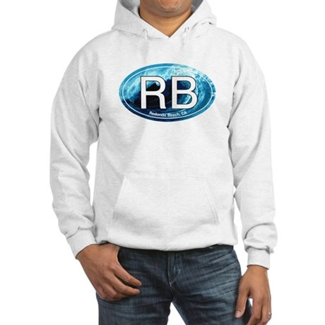 RB Redondo Beach, CA Oval Hooded Sweatshirt