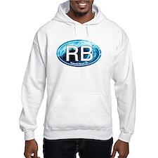 RB Redondo Beach, CA Oval Hoodie