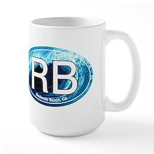 RB Redondo Beach, CA Oval Mug