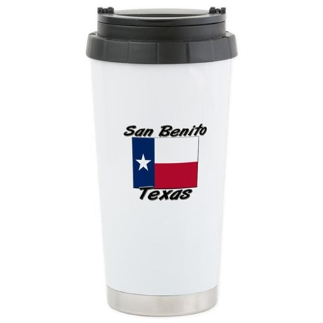 San Benito Texas Stainless Steel Travel Mug