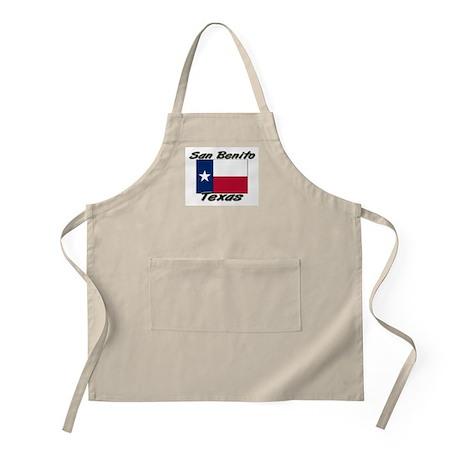 San Benito Texas BBQ Apron