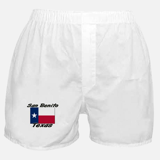 San Benito Texas Boxer Shorts
