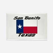 San Benito Texas Rectangle Magnet