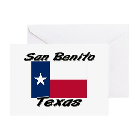 San Benito Texas Greeting Cards (Pk of 20)