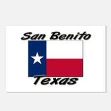 San Benito Texas Postcards (Package of 8)