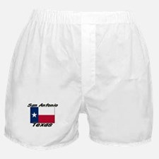 San Antonio Texas Boxer Shorts