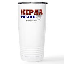 HIPAA Police Travel Coffee Mug