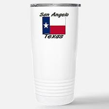 San Angelo Texas Stainless Steel Travel Mug
