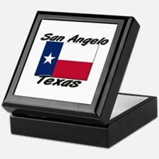 San Angelo Texas Keepsake Box