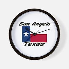 San Angelo Texas Wall Clock