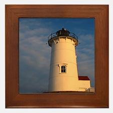 Nobska Light, Cape Cod, MA Framed Tile