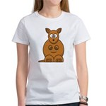 Cartoon Kangaroo Women's T-Shirt
