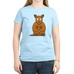 Cartoon Kangaroo Women's Light T-Shirt