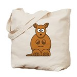 Cartoon Kangaroo Tote Bag