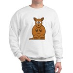 Cartoon Kangaroo Sweatshirt