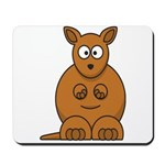 Cartoon Kangaroo Mousepad