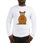Cartoon Kangaroo Long Sleeve T-Shirt