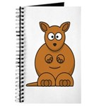 Cartoon Kangaroo Journal