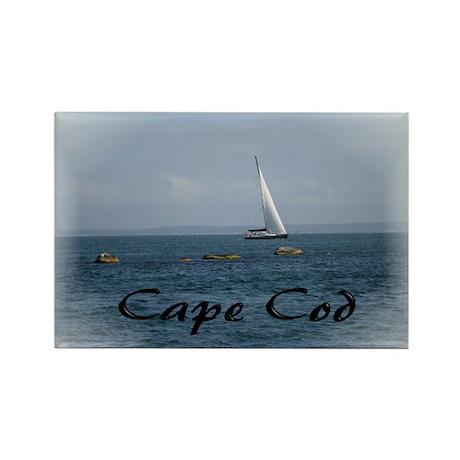Cape Cod Sail Rectangle Magnet