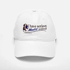 Serious monkey mind Baseball Baseball Cap
