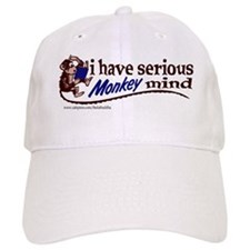 Serious monkey mind Baseball Cap