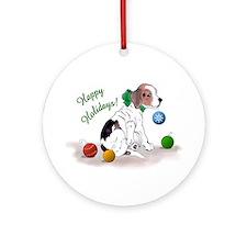 Beagle Holiday Ornament (Round)